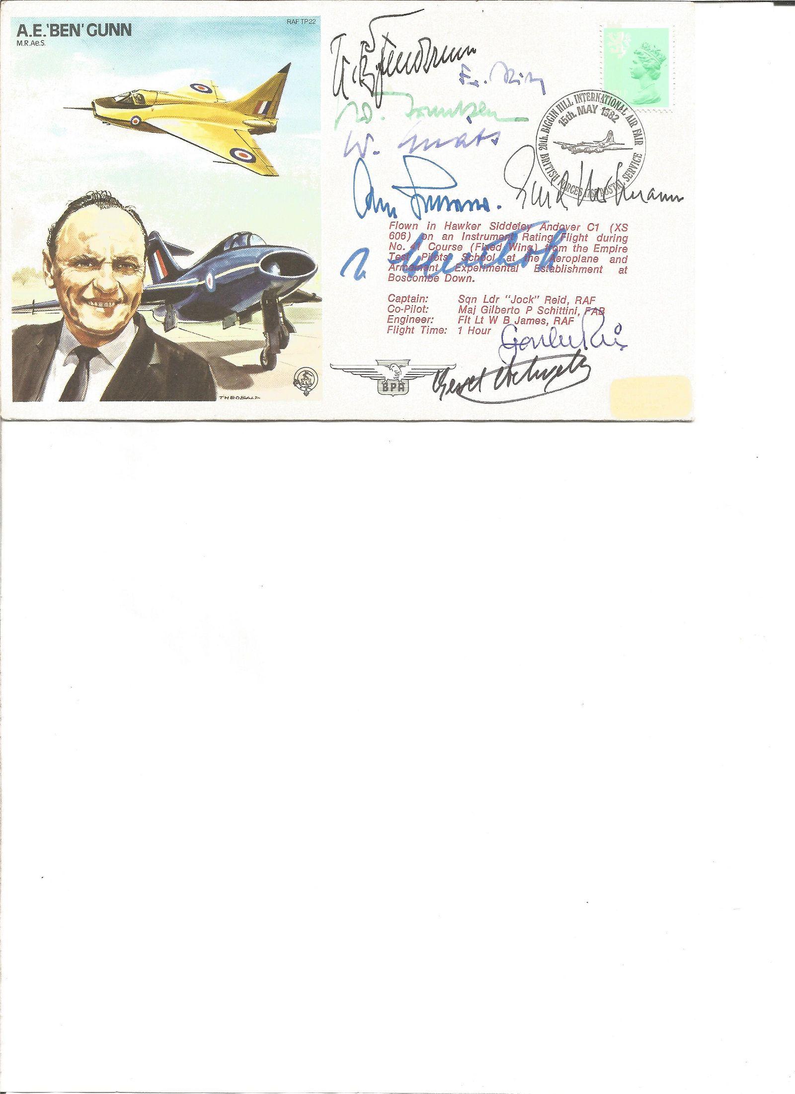 Erich Hartmann Top Luftwaffe WW2 ace multiple signed