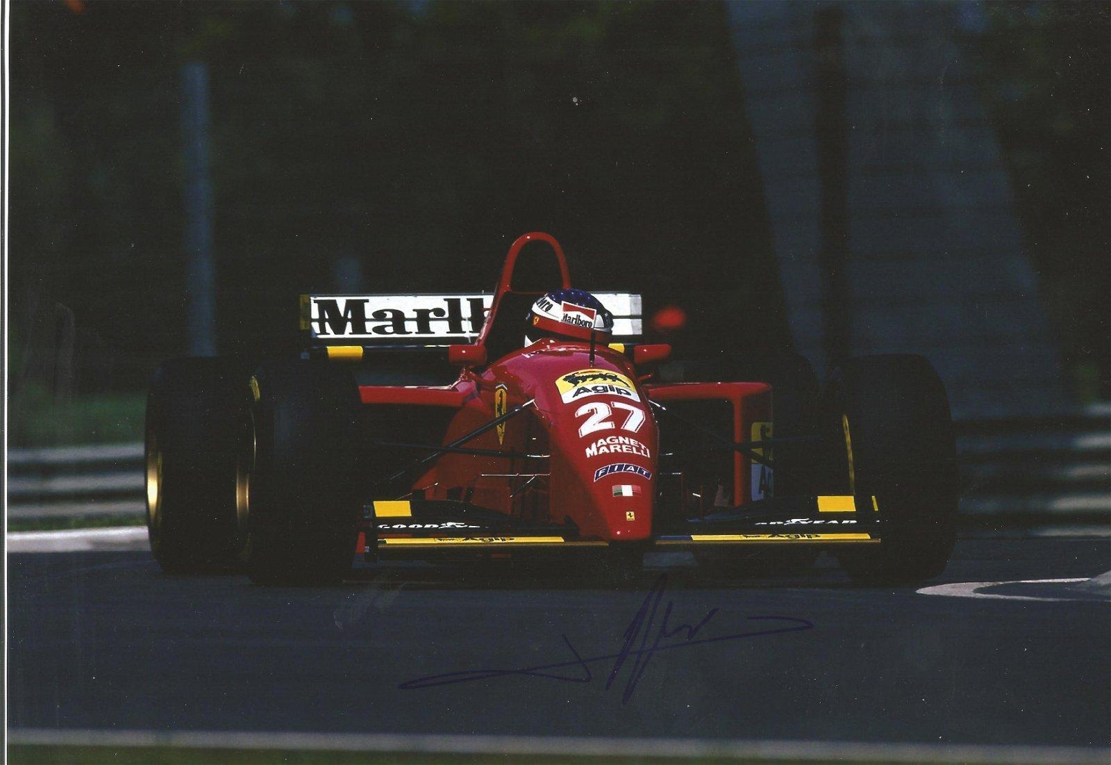 Jacques Villeneuve signed 12x8 colour photo. Good