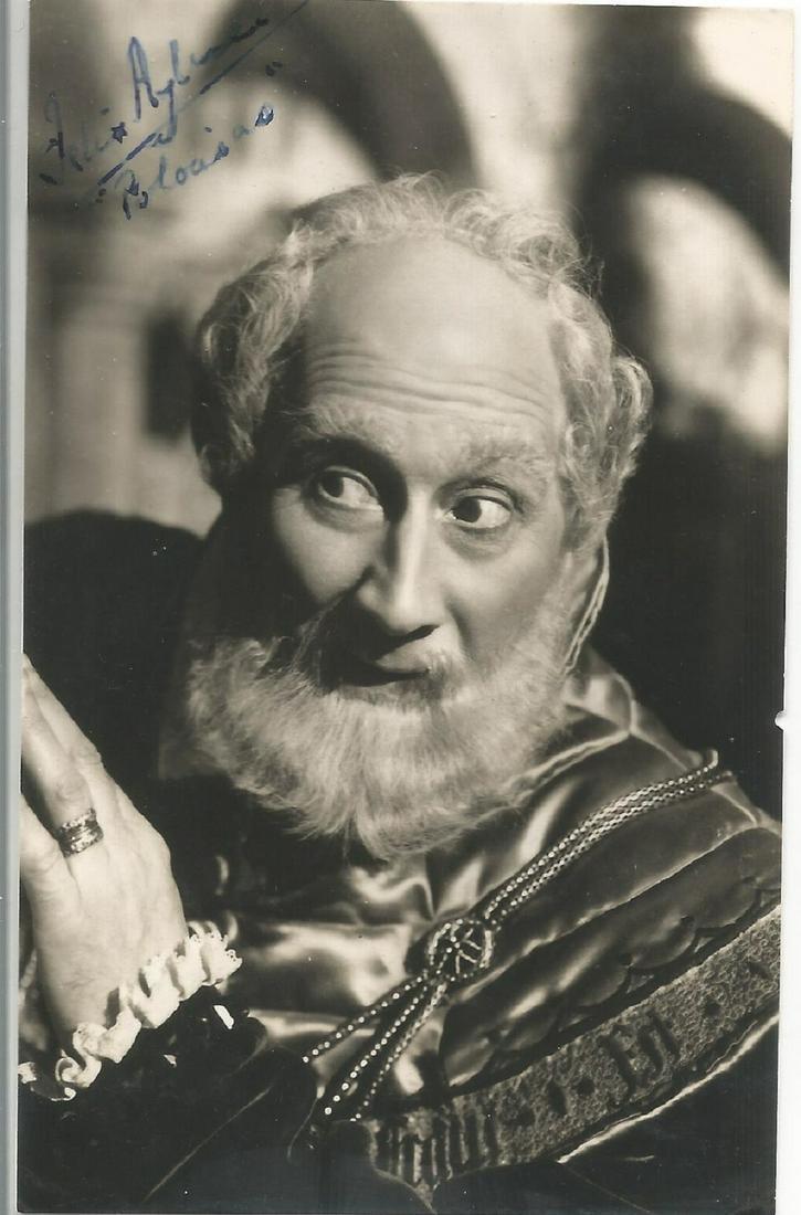 Felix Aylmer signed 6x4 black and white photo. Good