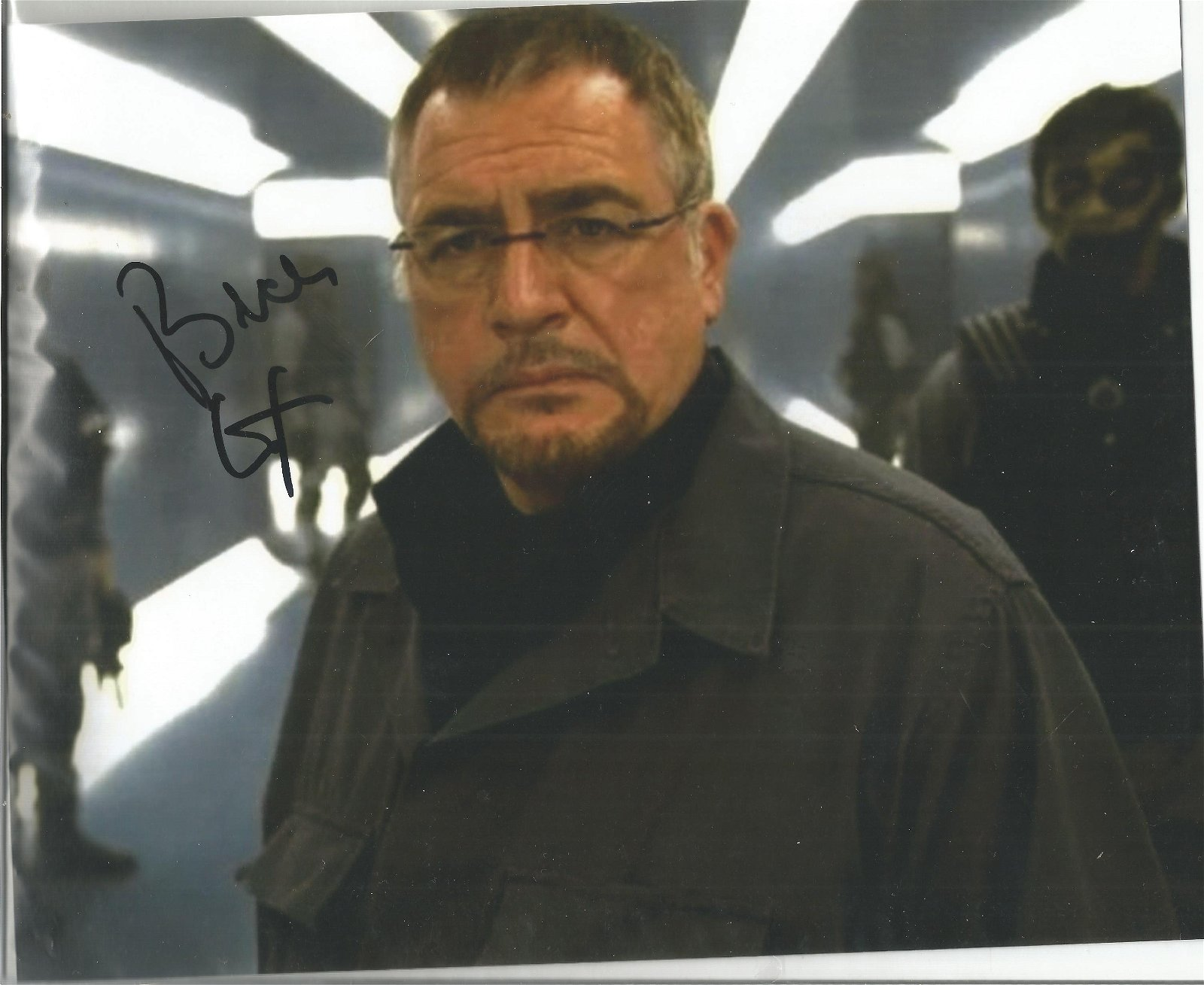 Brian Cox Actor Signed 8x10 Photo . Good Condition. All