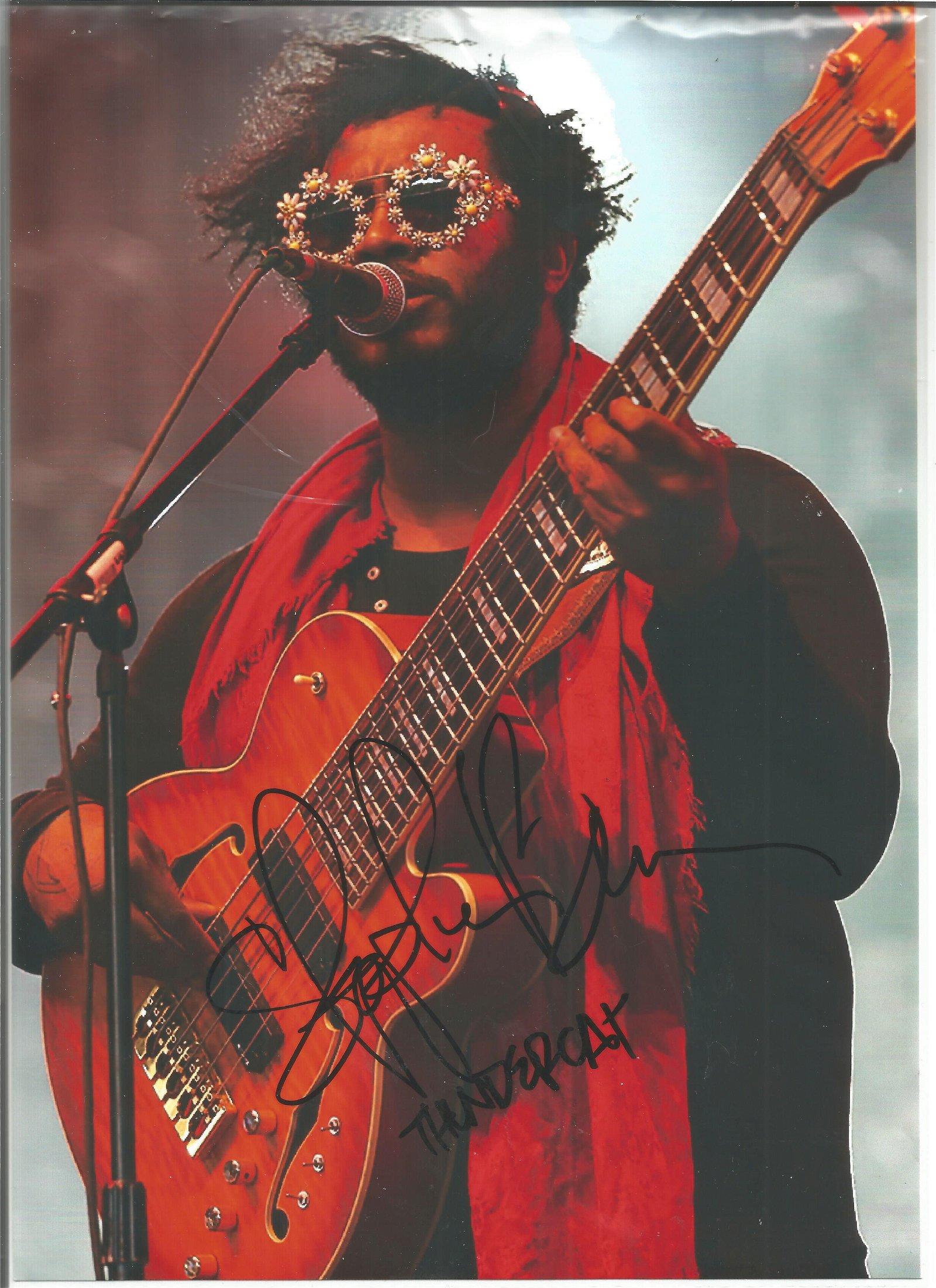 Thundercat Aka Stephen Bruner Singer Signed 8x12 Photo