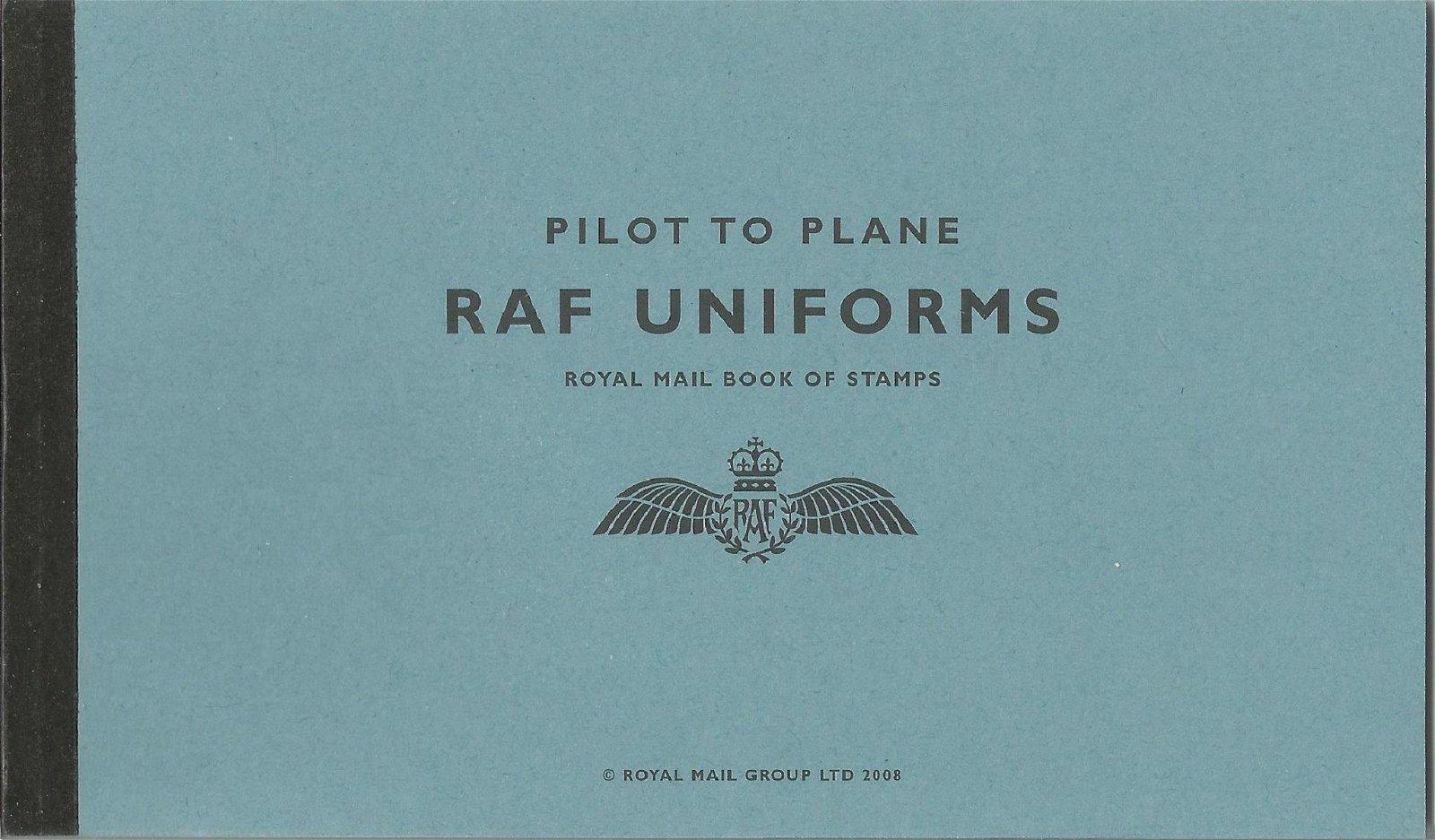 Royal Mail complete prestige stamp booklet - Pilot to