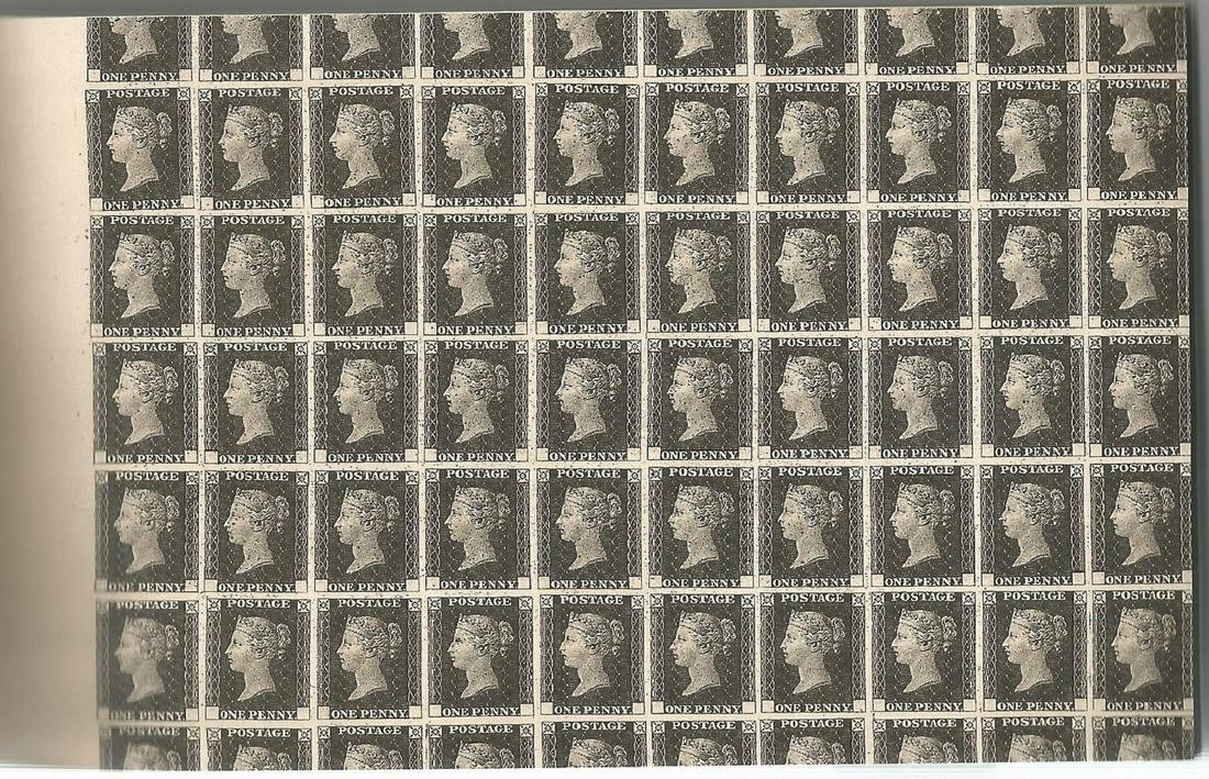 Royal Mail complete prestige stamp booklet - Treasures
