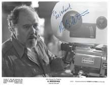Robert Altman Signed promo photo black and white 10 x 8