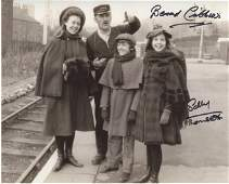 THE RAILWAY CHILDREN 8x10 photo signed by actress Sally