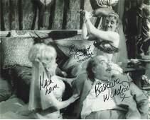 BARBARA WINDSOR & BERNARD CRIBBINS signed 8x10 photo