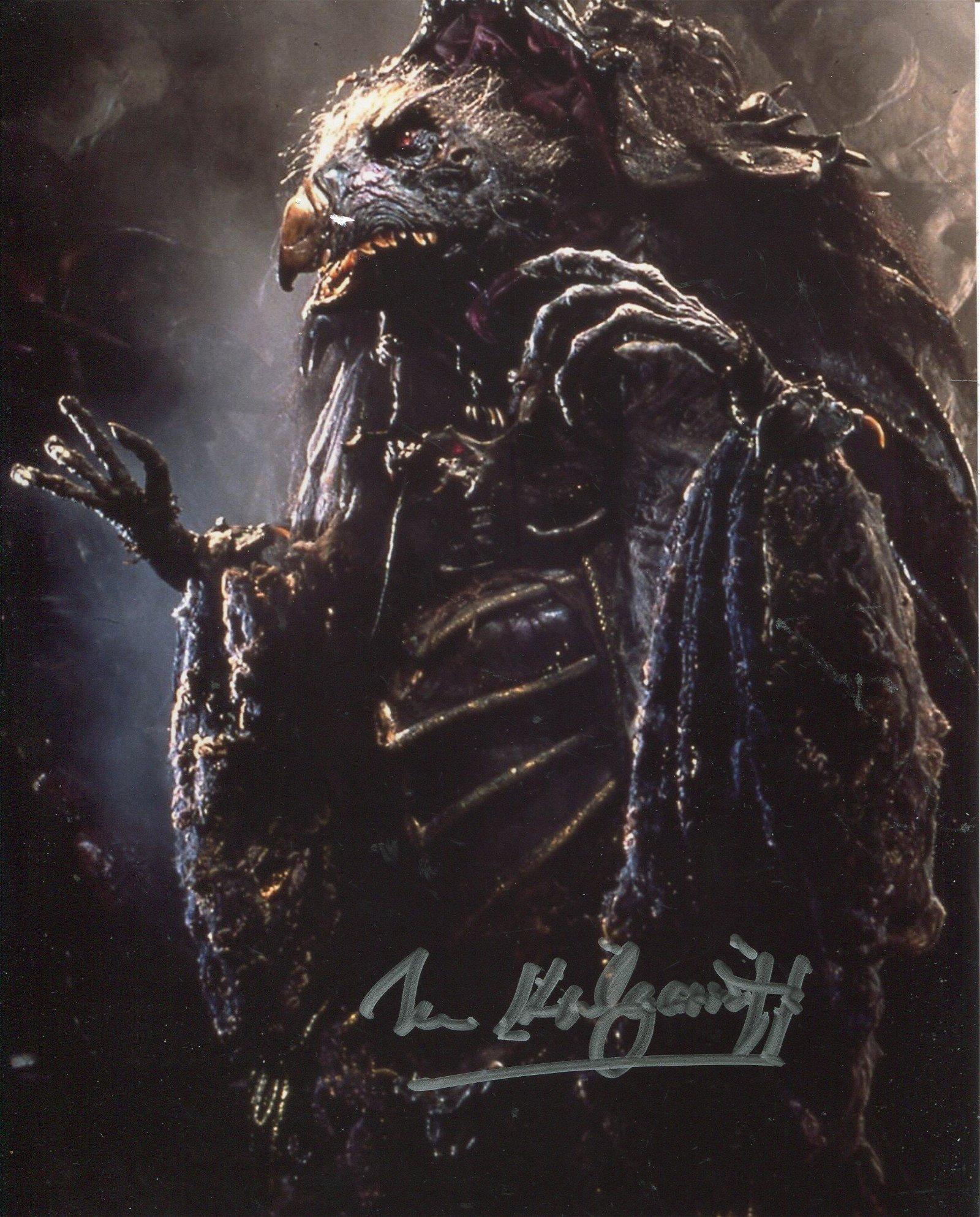 THE DARK CRYSTAL fantasy movie 8x10 photo signed by