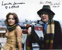 DOCTOR WHO CAST SIGNED 8x10 photo from Doctor Who