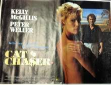 Cat Chaser 30x40 approx movie poster from the 1989 film