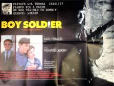 Boy Soldier 30x40 approx movie poster from 1987 feature