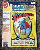 DC Comic Famous 1st Edition Limited collectors Golden