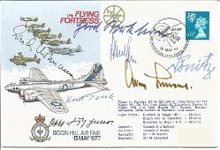 The Flying Fortress signed Biggin Hill Air Fair 13th