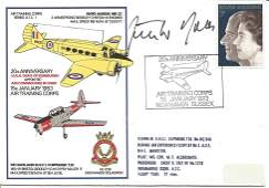 General Gunther Rall KC signed 20th Anniversary HRH