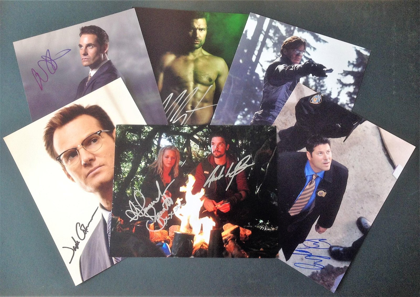 Blowout Sale! Lot of 6 hand signed 10x8 photos. This