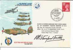 WW2 fighter ace Robert Stanford Tuck DSO DFC signed