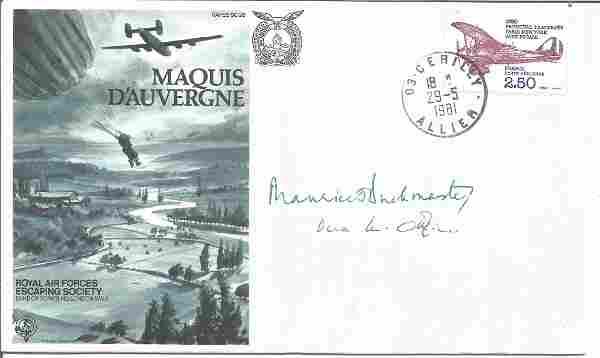 Col Maurice Buckmaster & Vera Atkins rare WW2
