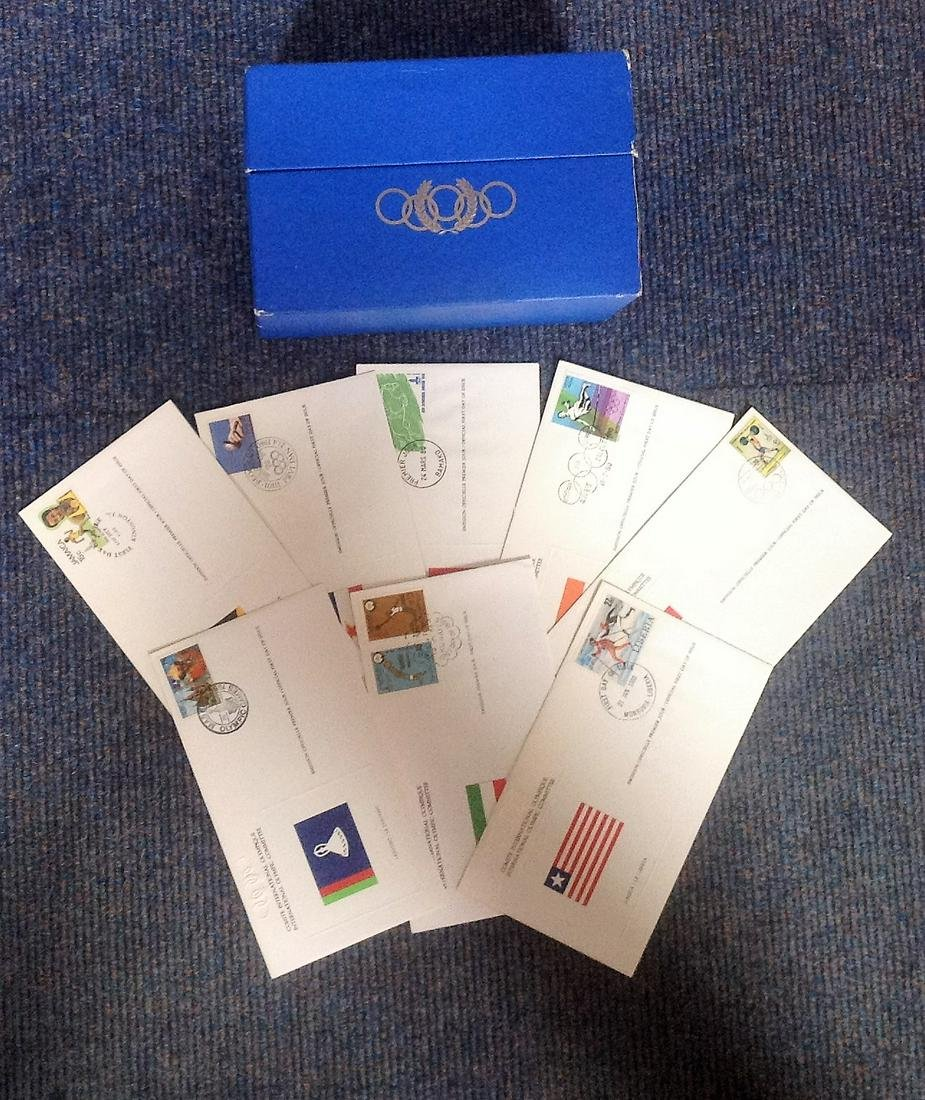 Olympic FDC collection. 20 plus included. Covers