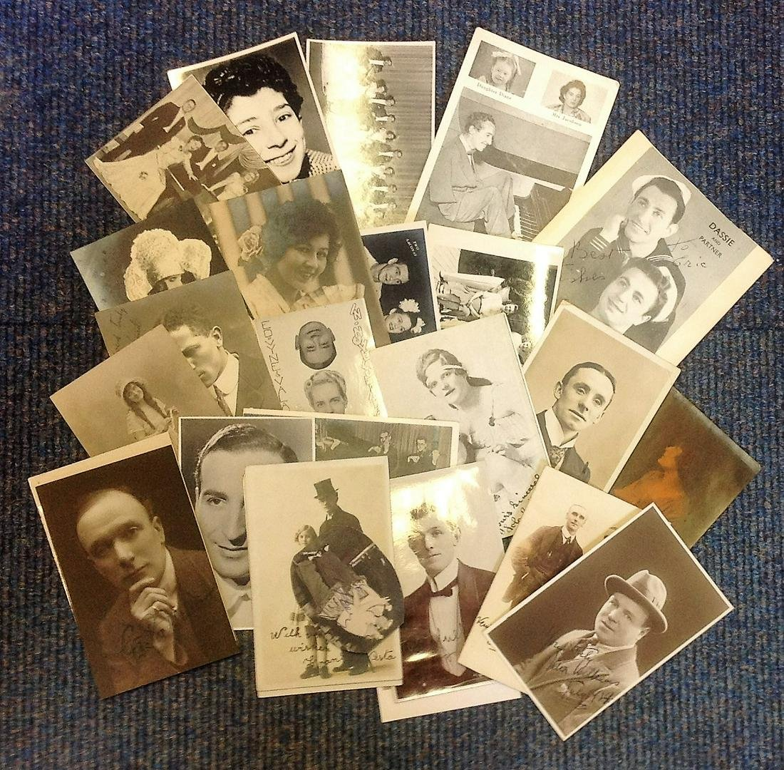 Vintage signed photo collection. 20+ included. Some may