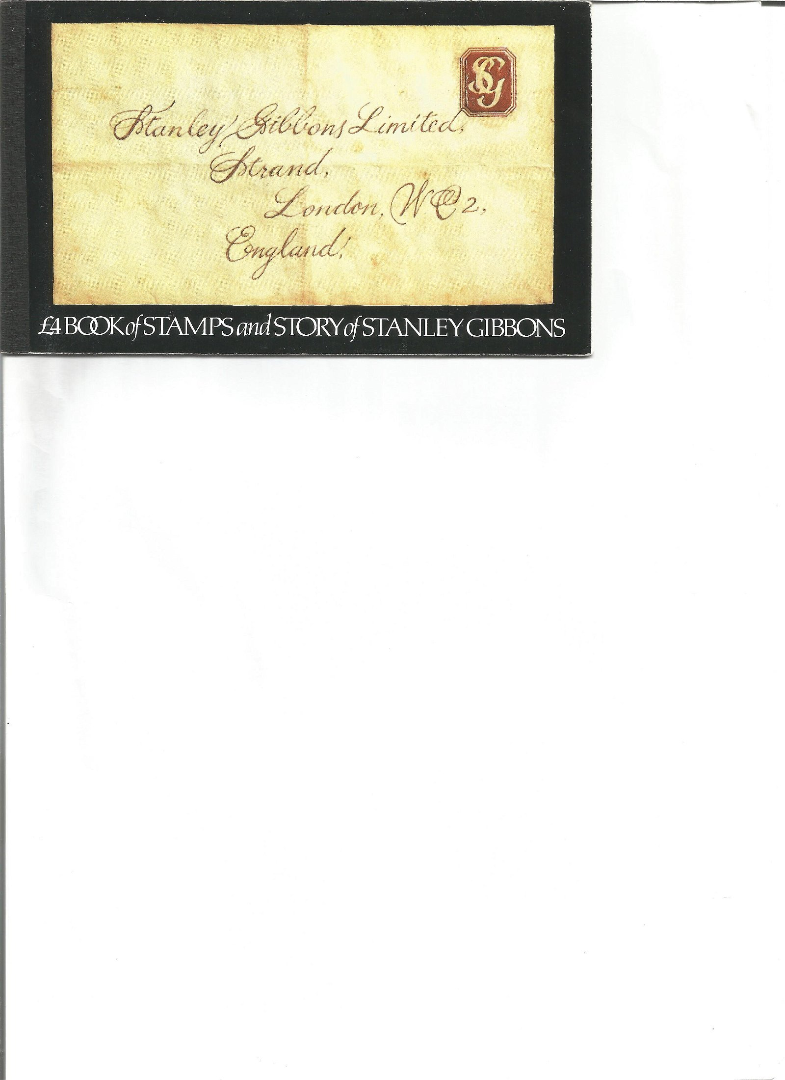 Royal Mail complete prestige stamp booklet Story of