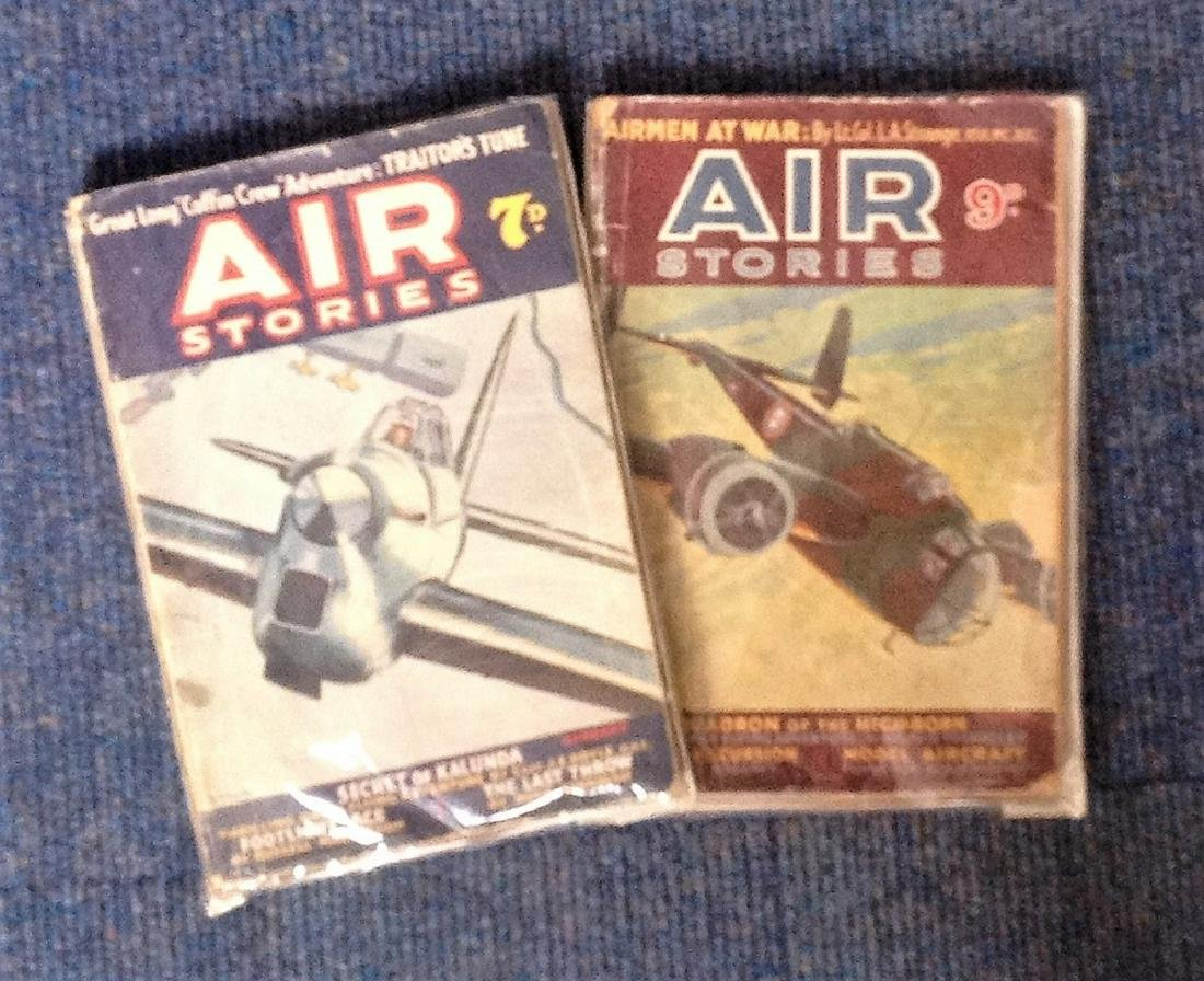 Air Stories paperback book collection. 2 in total.