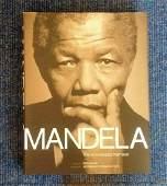 Mandela The Authorised Portrait Hardback book signed