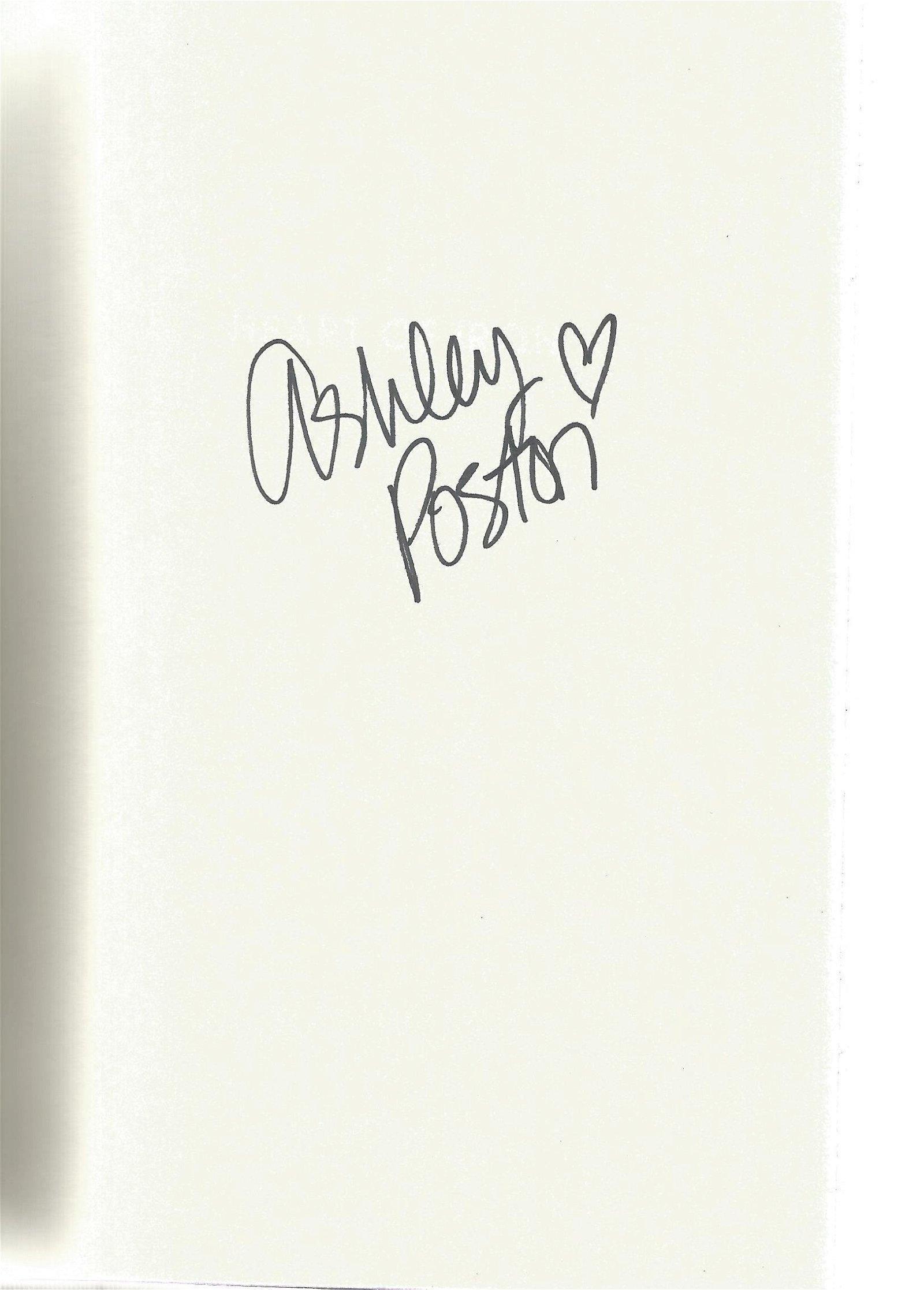 Ashley Poston signed Heart of Iron hardback book.