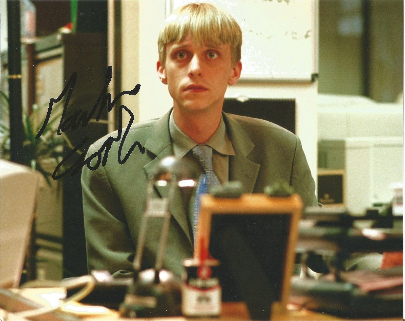 Mackenzie Crook Actor Signed The Office 8x10 Photo .