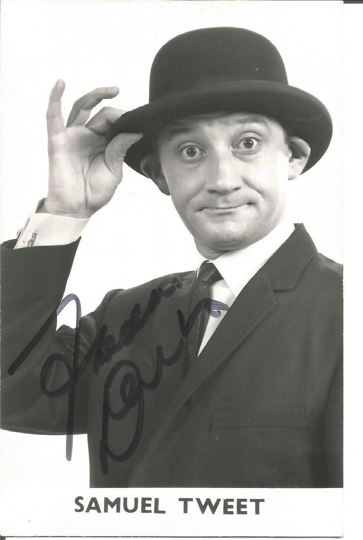 Freddie Parrotface Davies Signed Vintage Fanclub