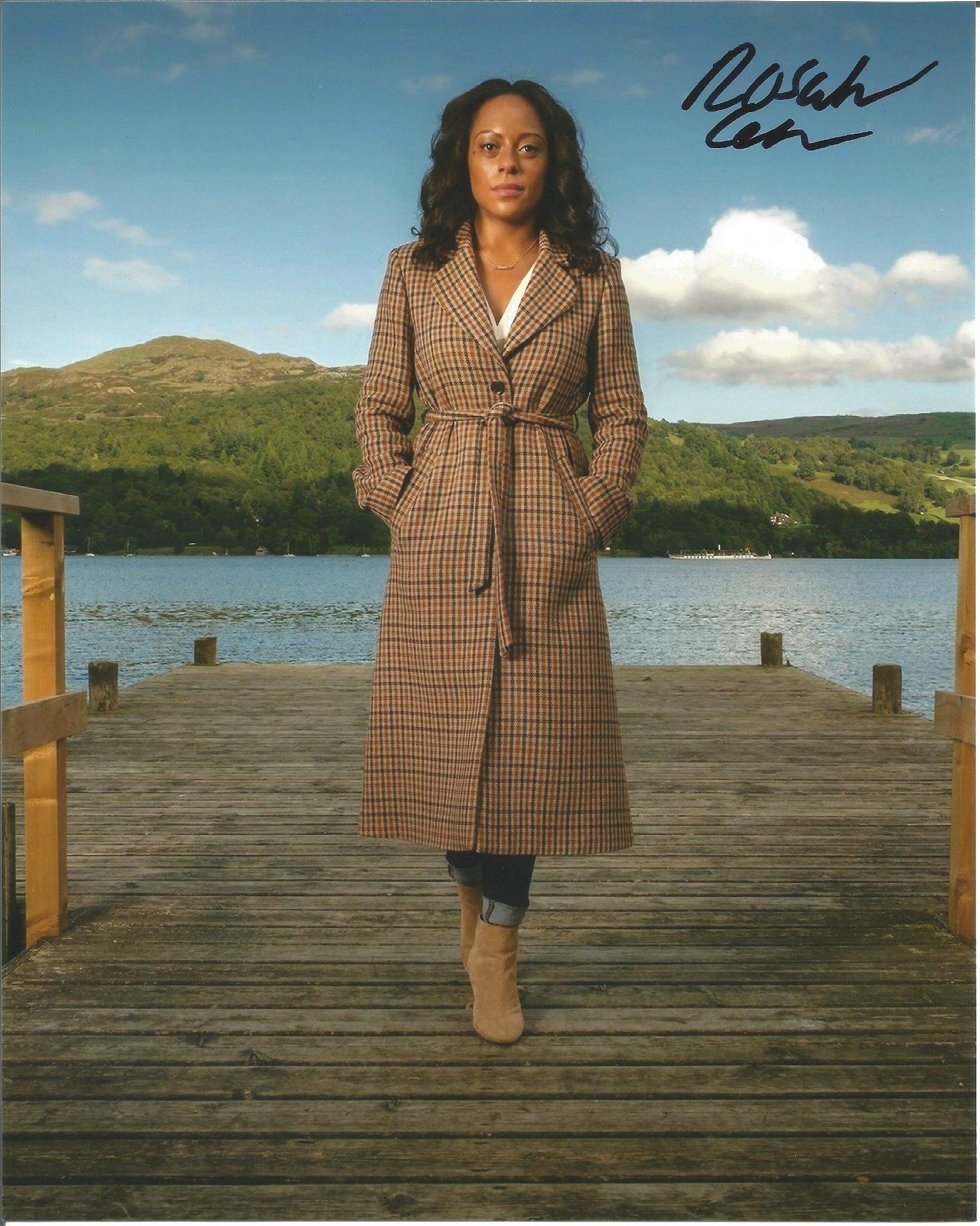 Rosalind Eleazar Actress Signed 8x10 Photo . Good