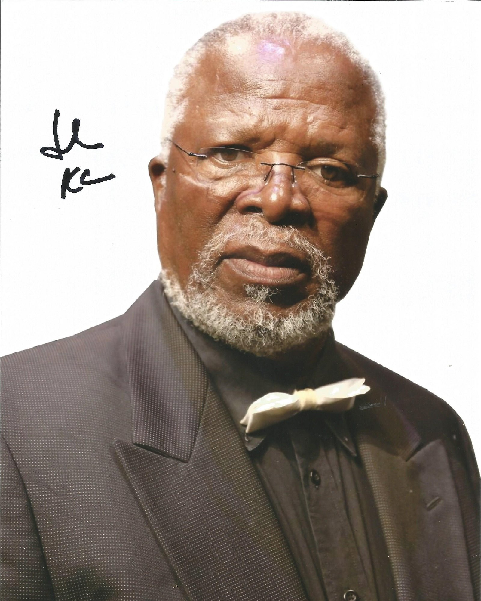 John Kani Actor Signed 8x10 Photo . Good Condition. All