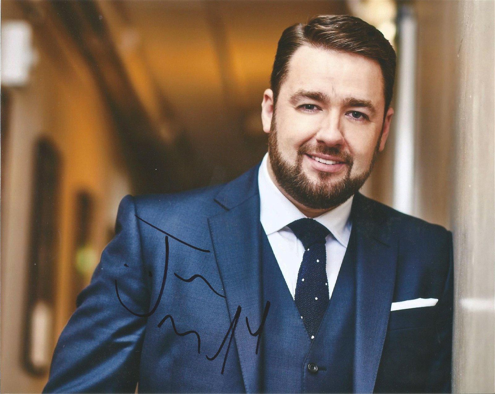 Jason Manford Comedian / Actor Signed 8x10 Photo . Good