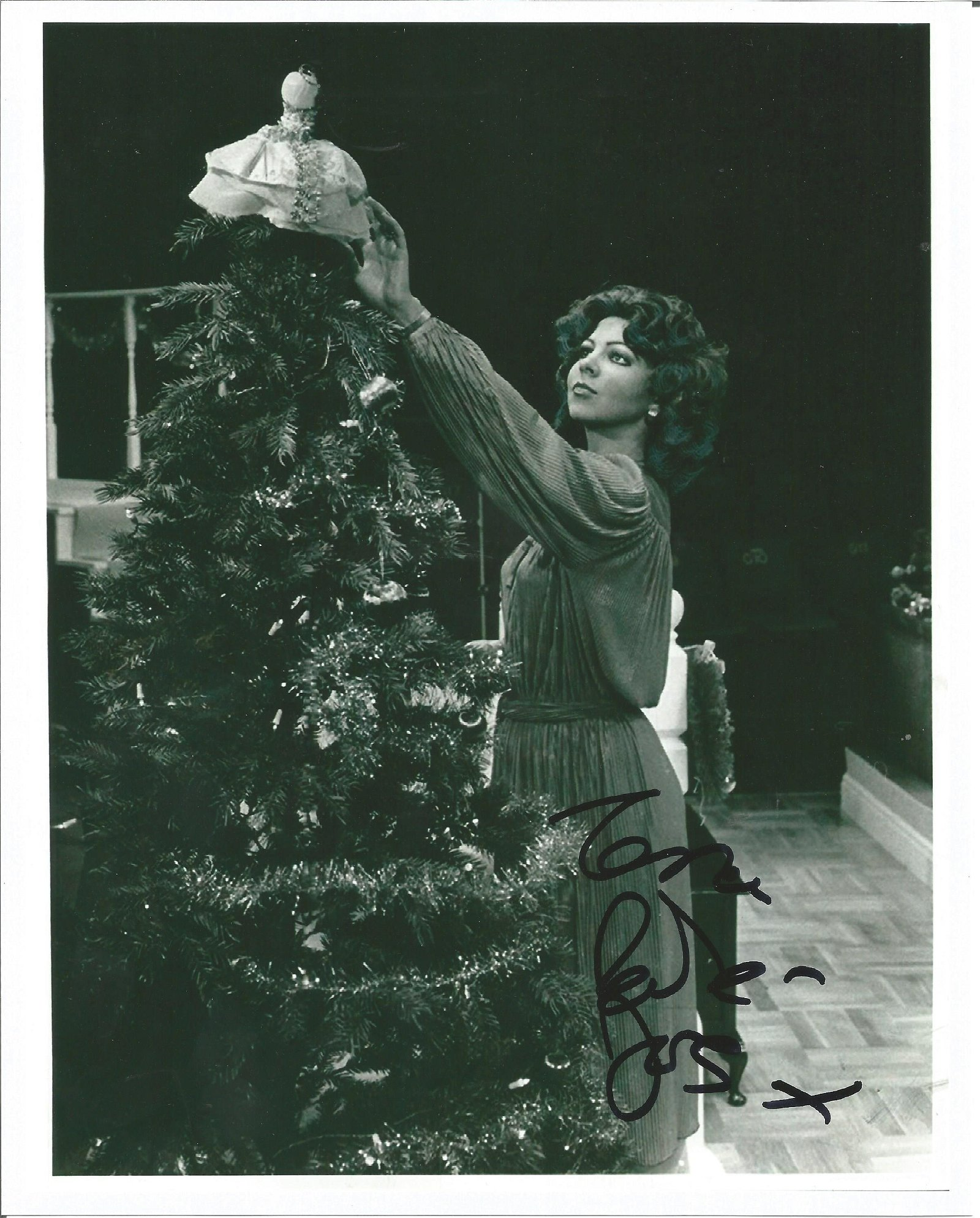 Tessa Peake Jones Only Fools and Horses Actress Signed