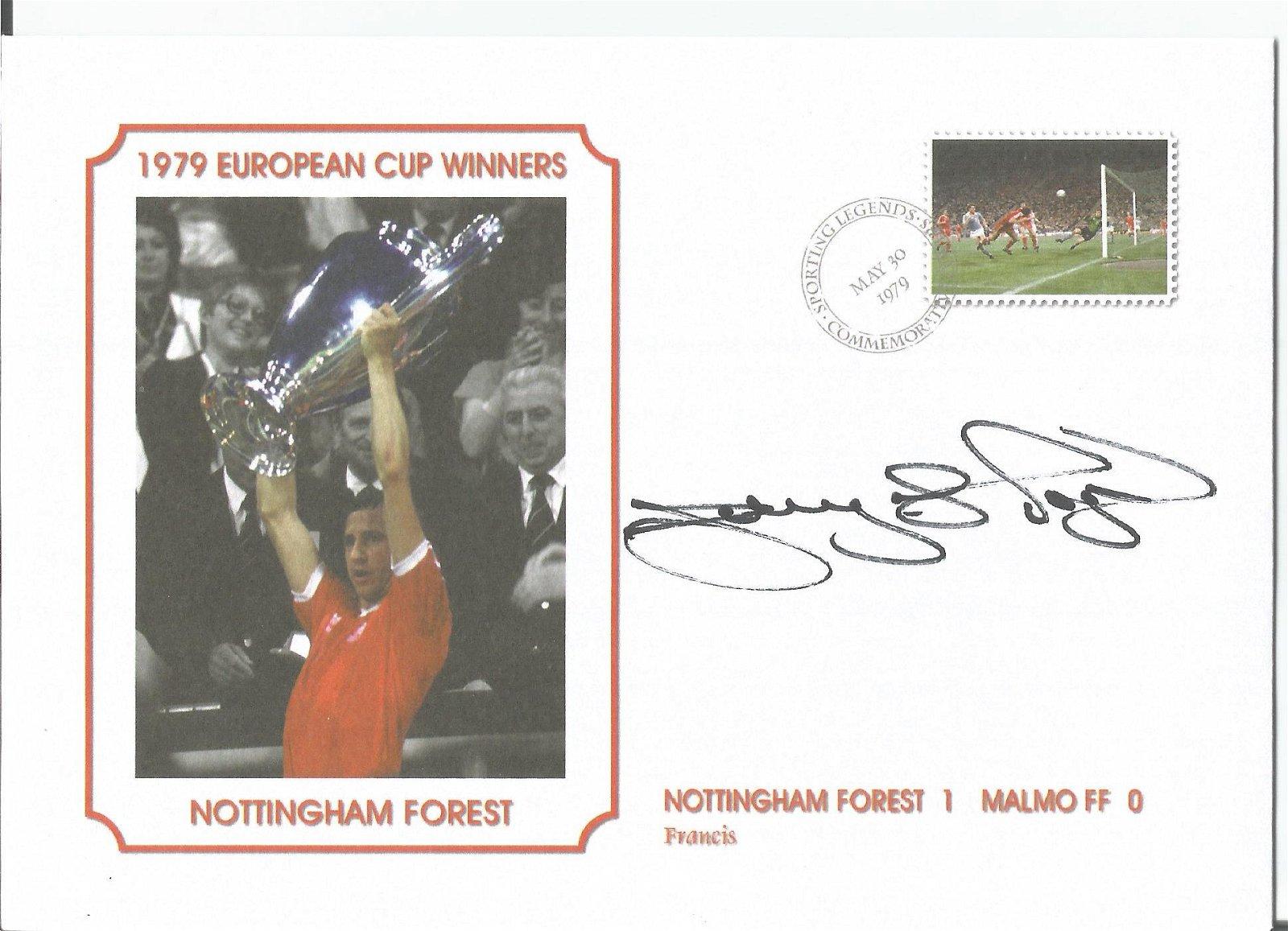 Larry Lloyd Signed Nottingham Forest 1979 European Cup