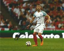 Gary Cahill Signed England 8x10 Photo . Good Condition.