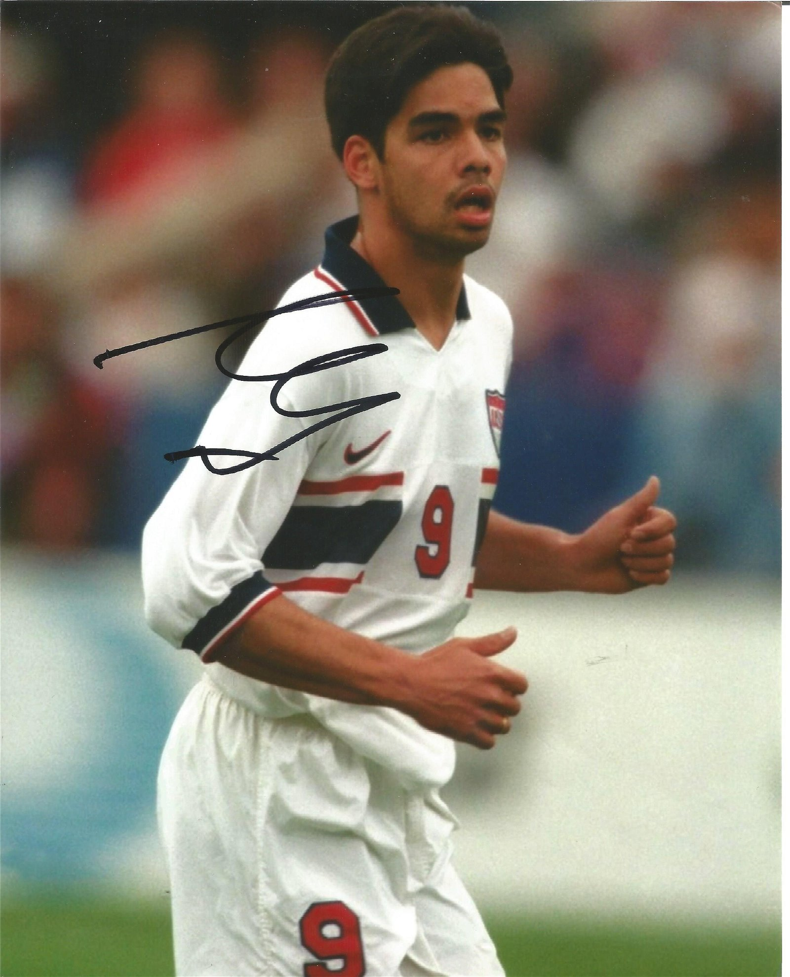 David Wagner Signed USA 8x10 Photo . Good Condition.