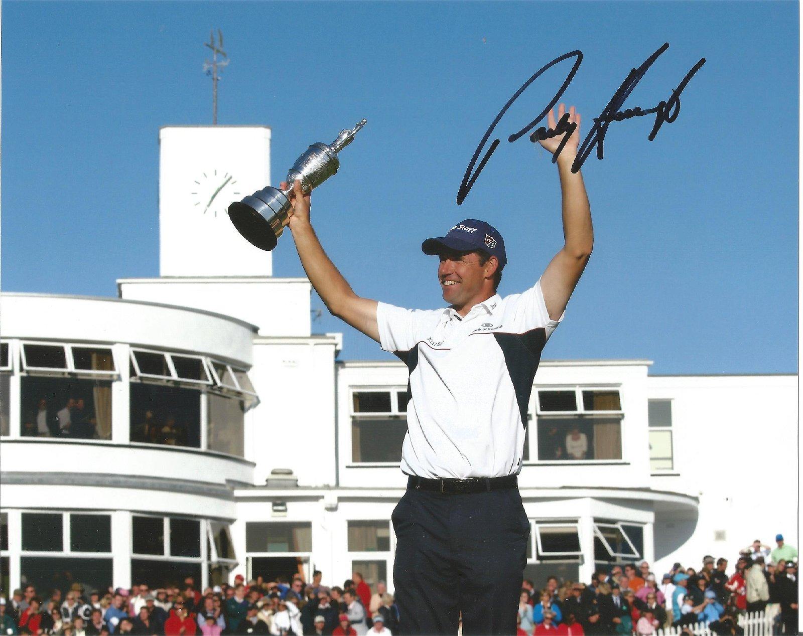 Padraig Harrington Signed British Open Golf 8x10 Photo
