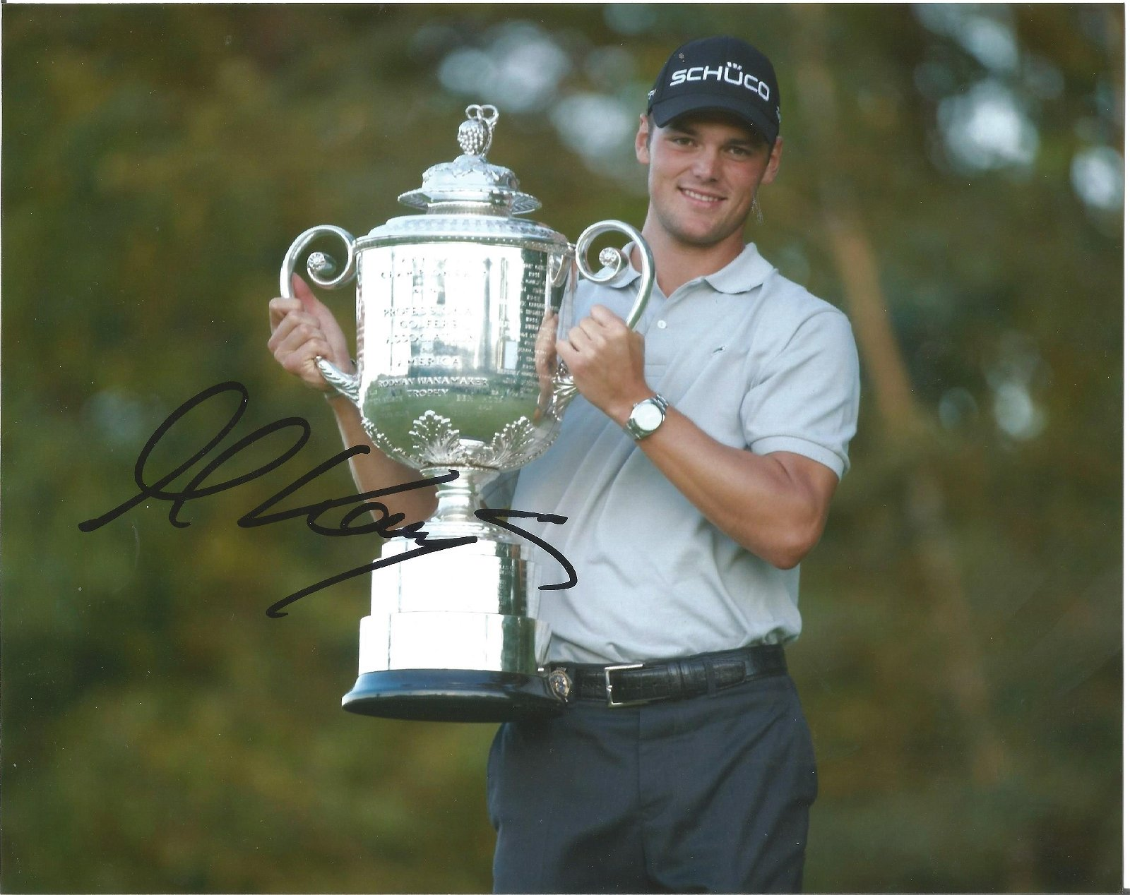 Martin Kaymer Signed Us Open Golf 8x10 Photo . Good