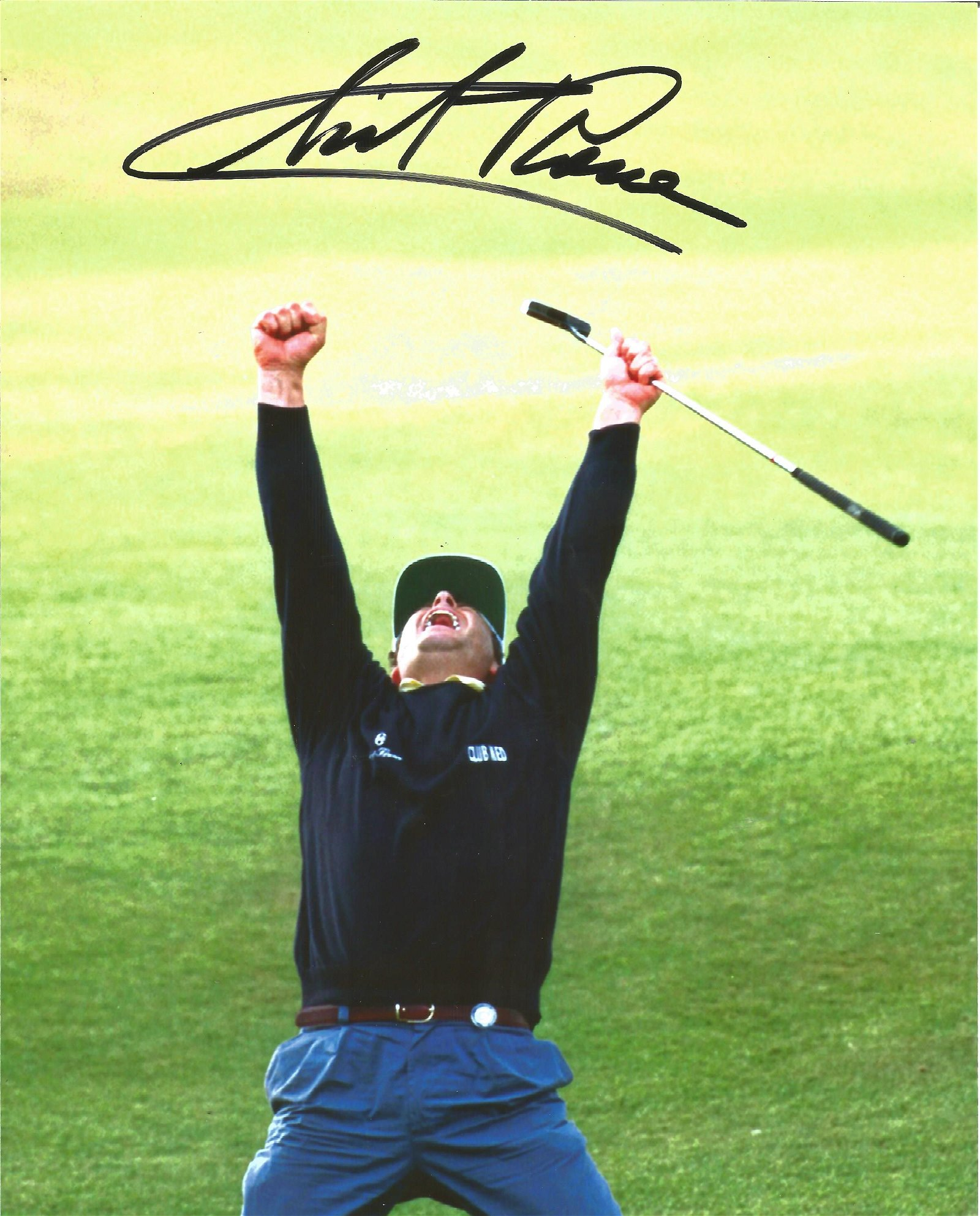 Constantino Rocca Signed 1995 Ryder Cup Golf 8x10 Photo