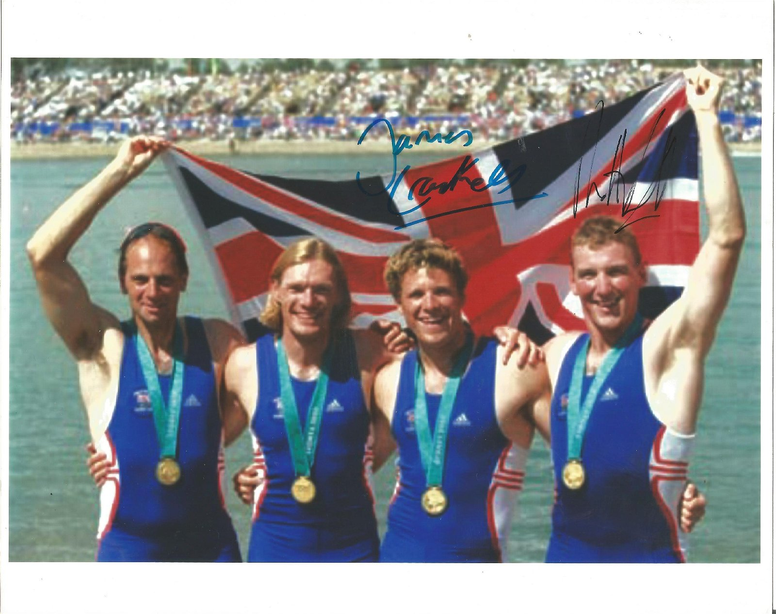 James Cracknell and Matthew Pinsent Signed With Olympic