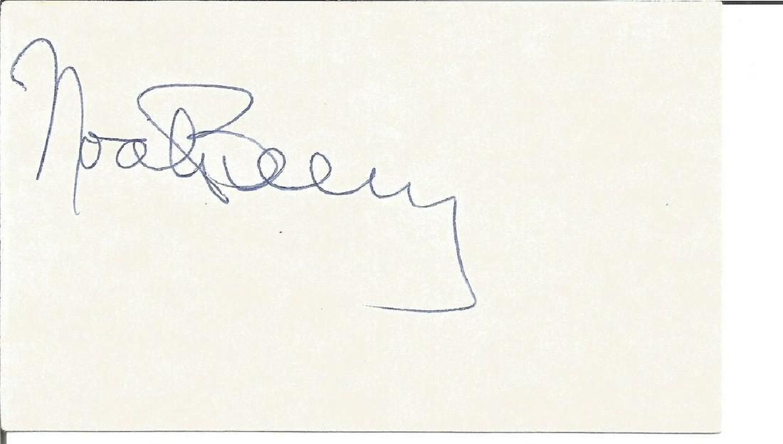 Noah Berry Jnr small signature piece. Good Condition.