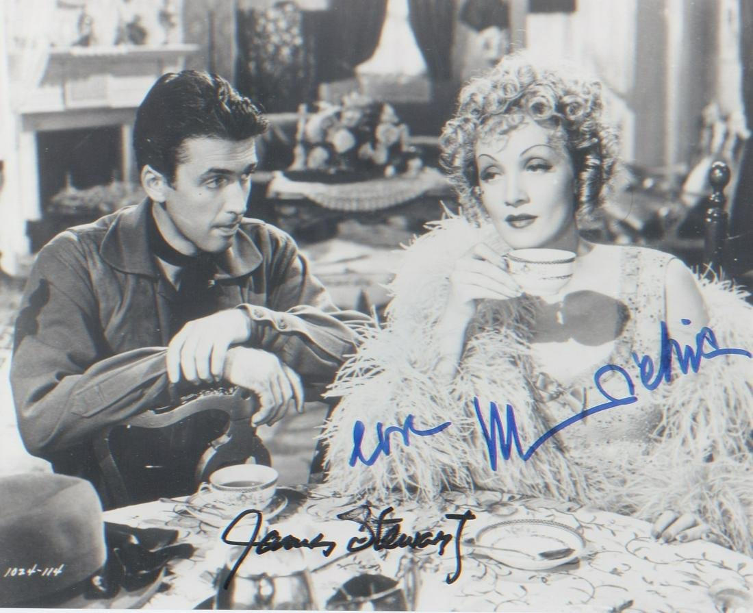 James Stewart and Marlene Dietrich Destry Rides Again.
