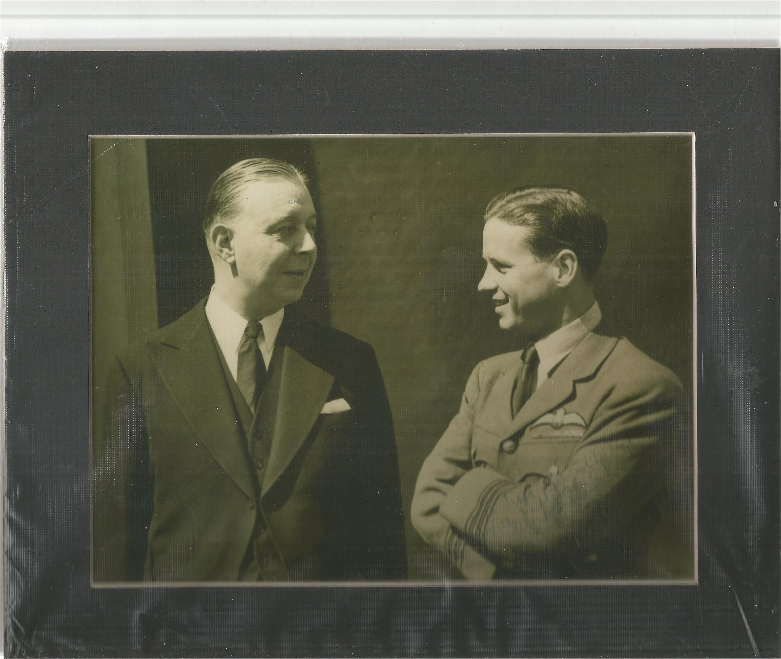 Margaret Dove signed 8 x 6 inch photo of Guy Gibson and