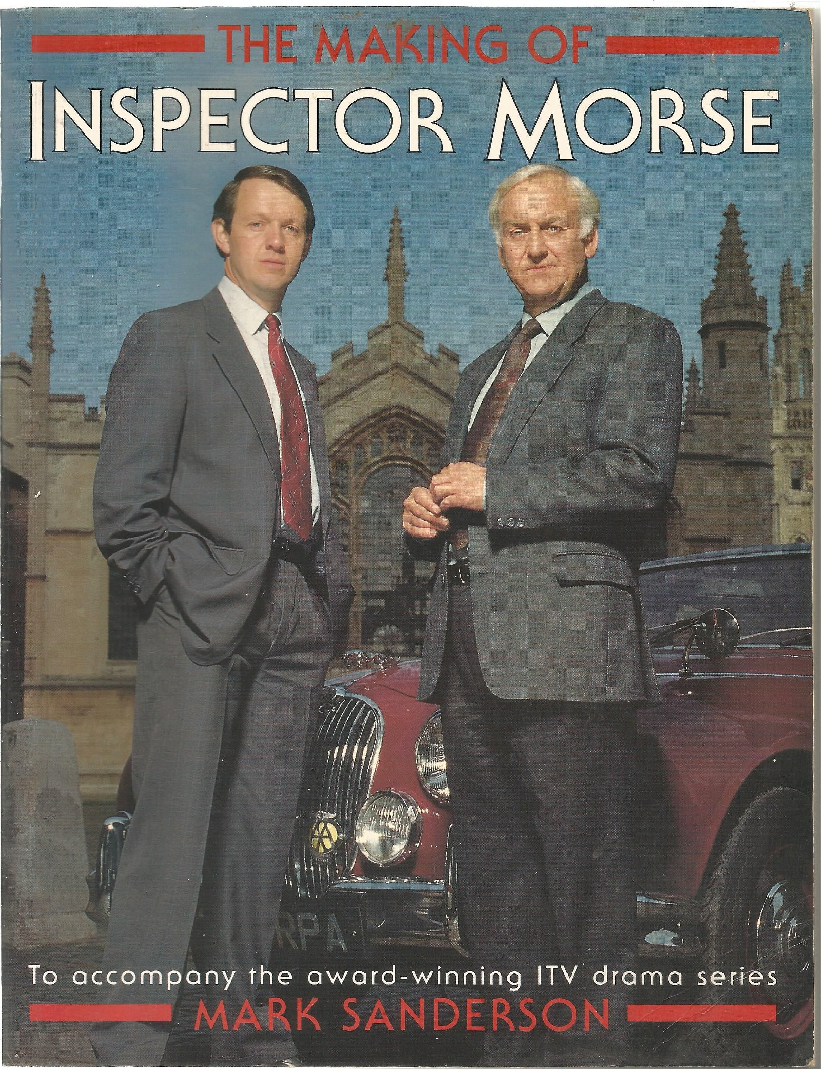 Multi signed The Making of Inspector Morse softback