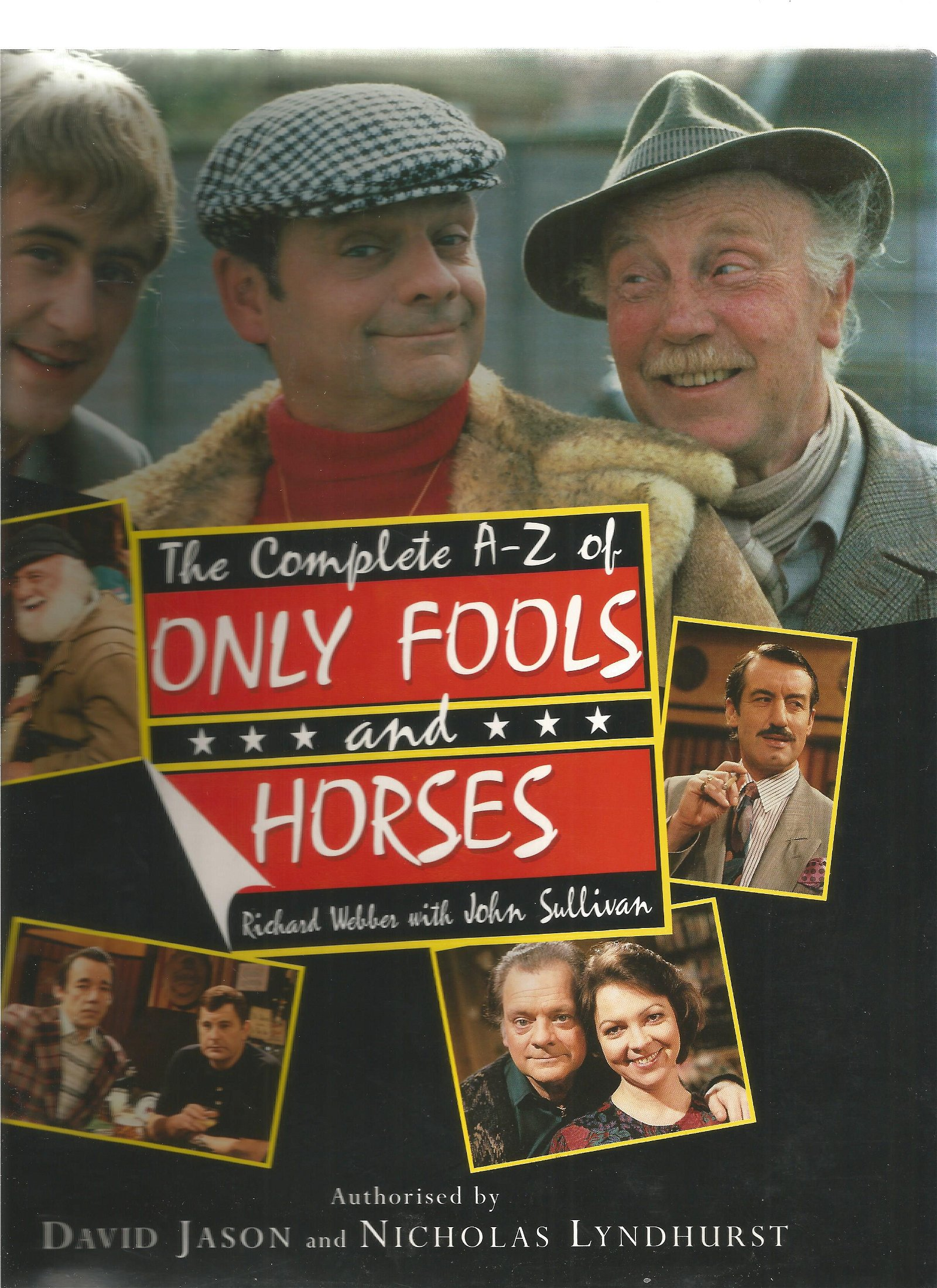 Multi signed The complete A Z of Only Fools and Horses