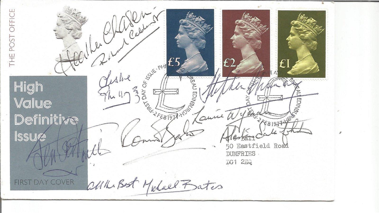 Heather Chasen, Leslie Phillips, Ronnie Barker, Michael