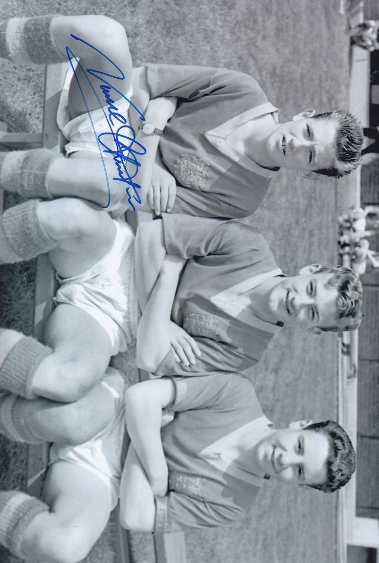 Leeds United Norman Hunter, Football Autographed 12 X 8