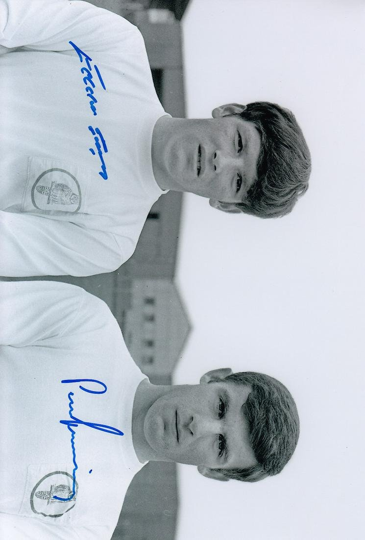Leeds United Gray and Lorimer, Football Autographed 12