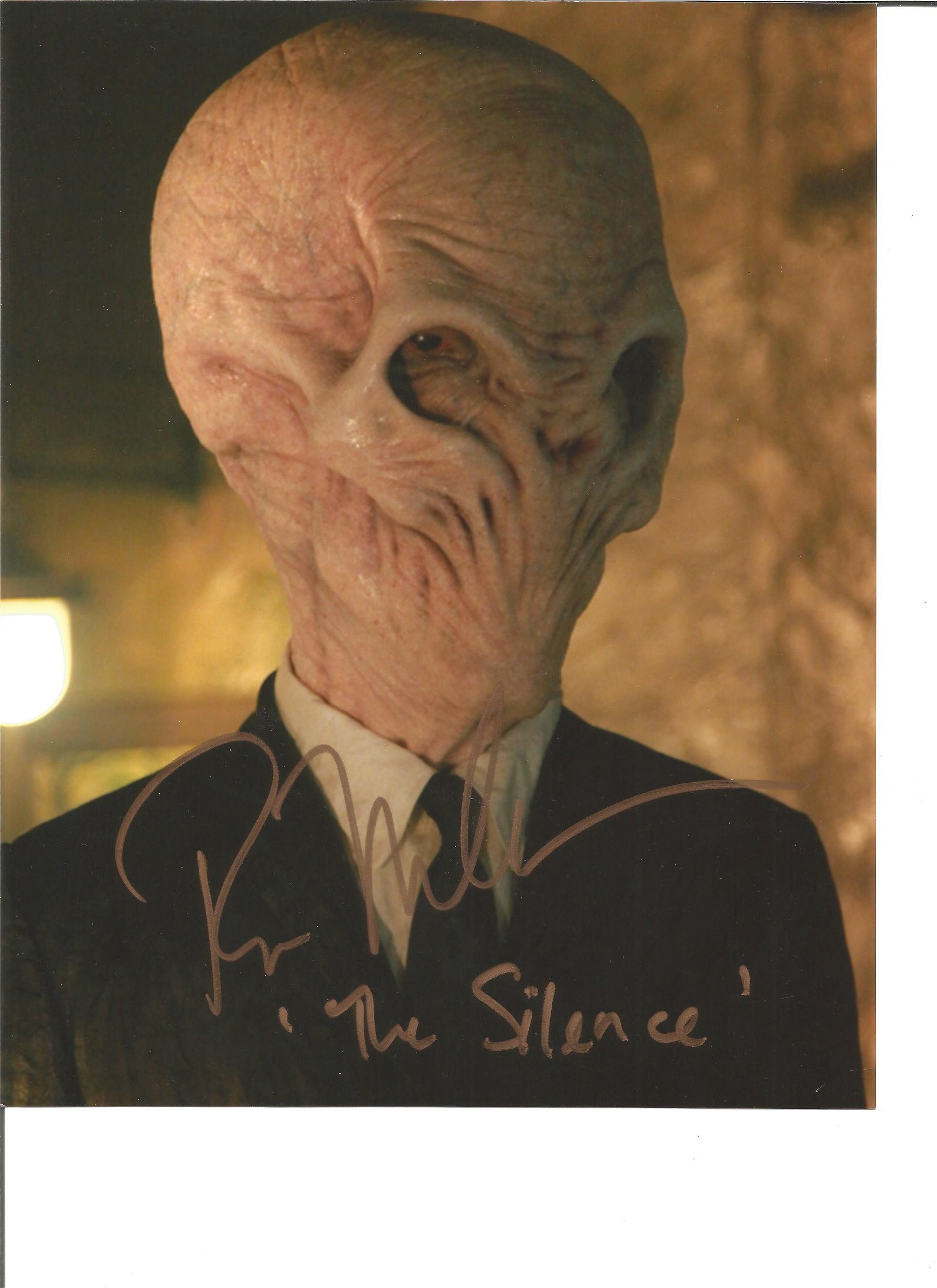 Ross Muller signed 10x8 colour photo from Dr Who. Good