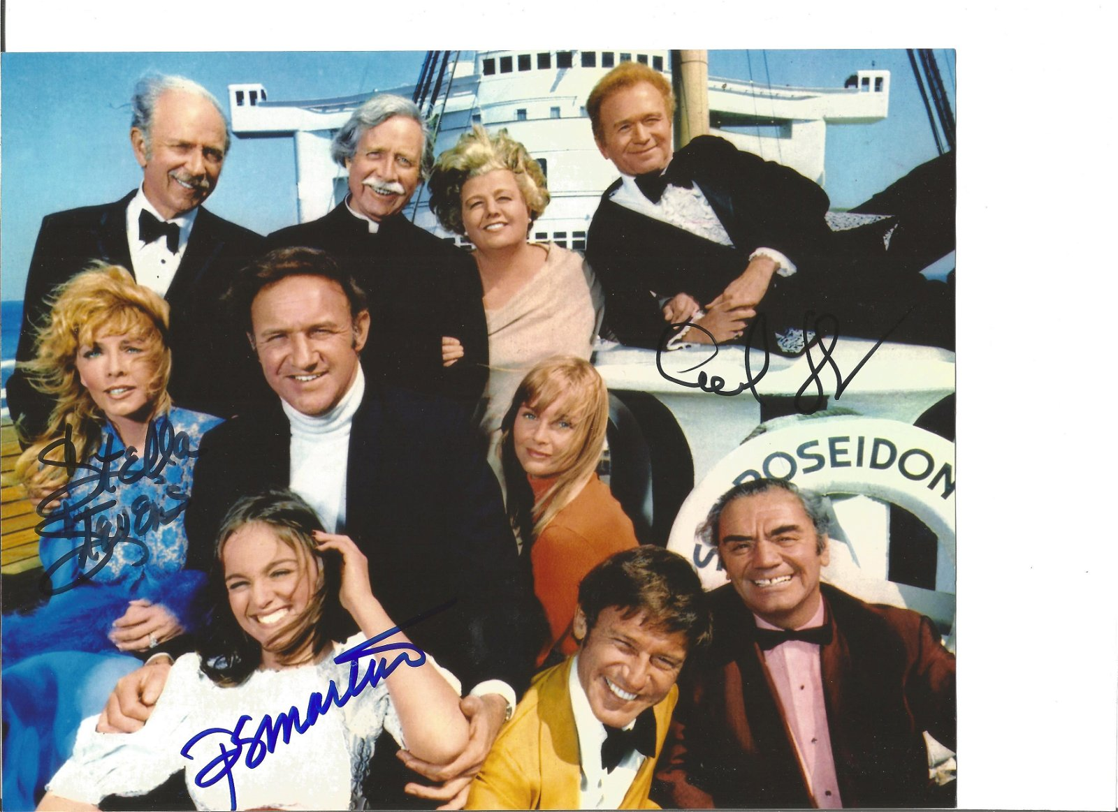 Poseidon Adventure signed 10x8 colour photo. Signed by
