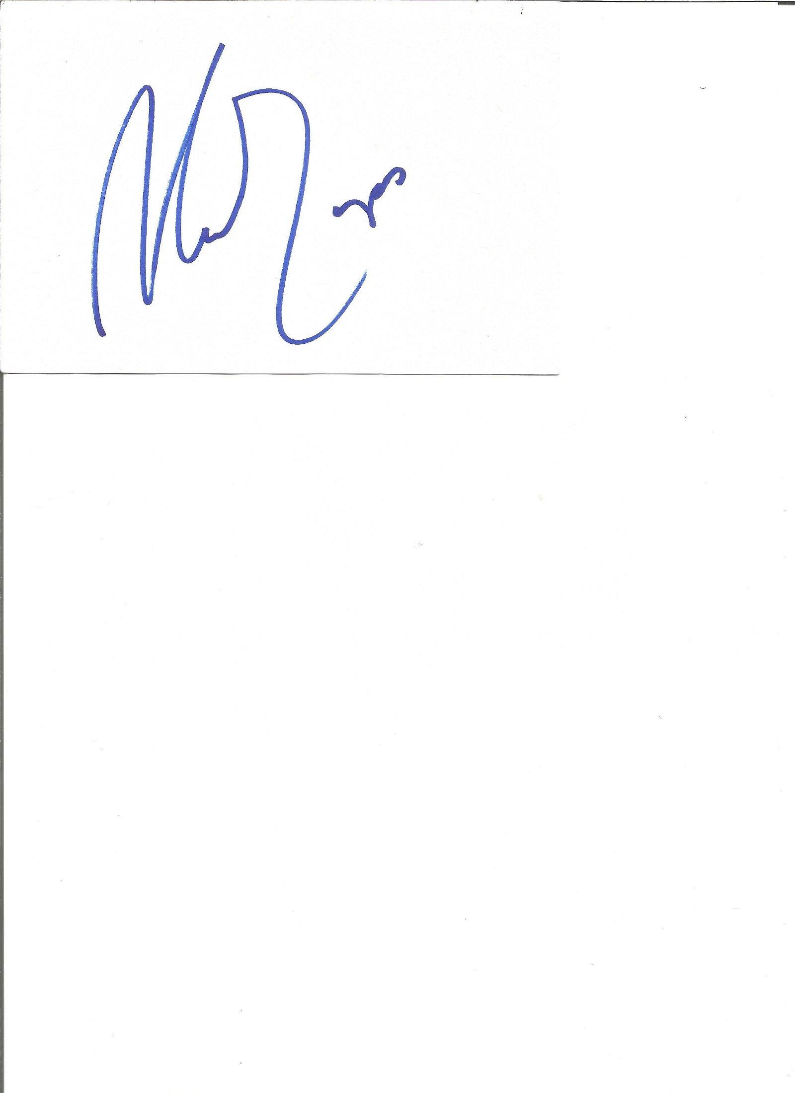 Antonio Fargas signed white card with 10x8 colour